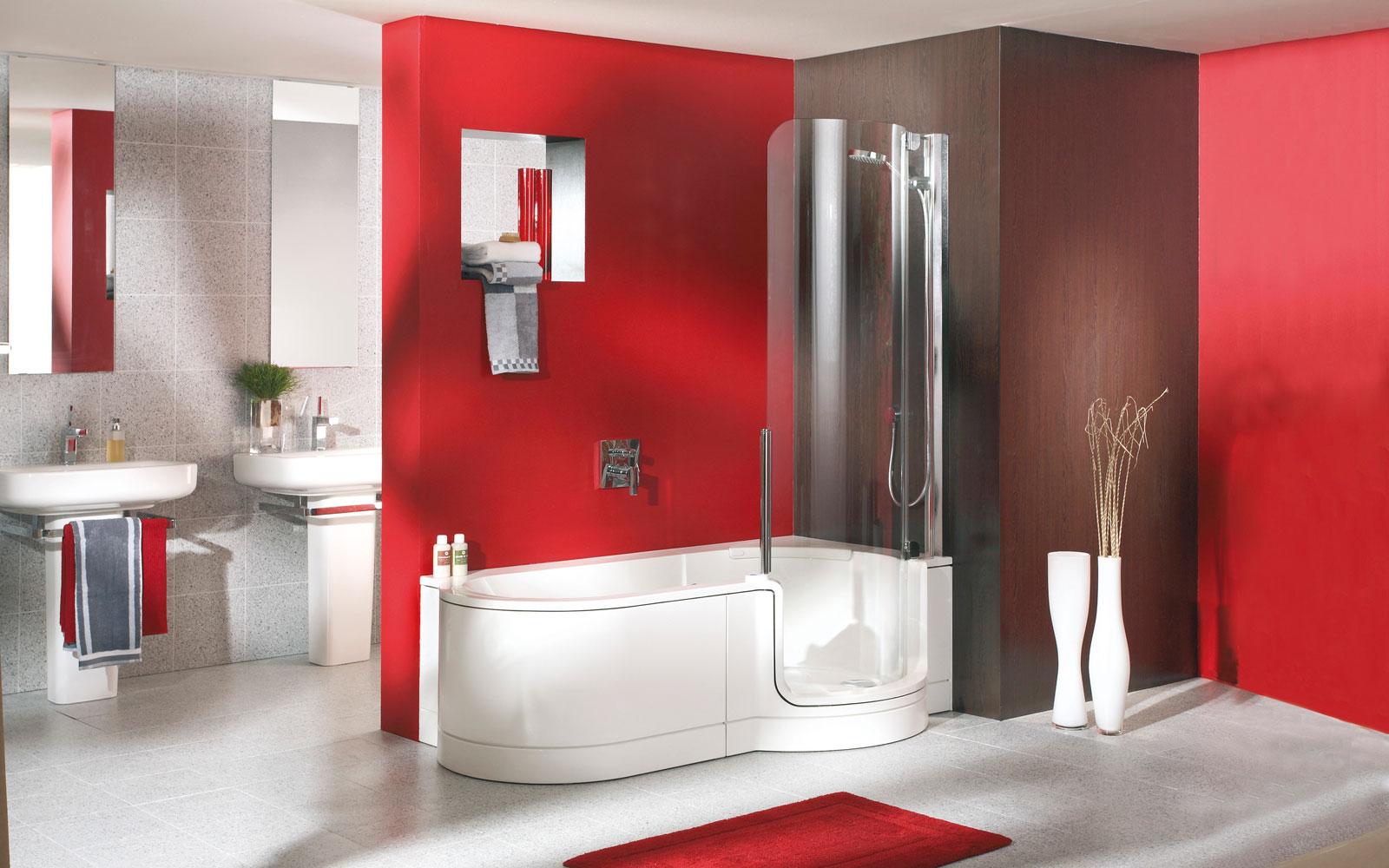 Duschbadewanne mit Einstieg | Baral | Bad | Heizung | Renovierung